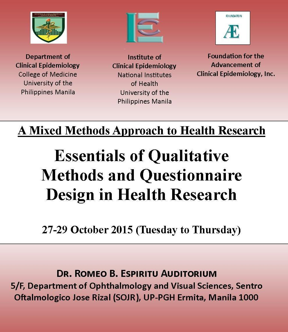 Qualitative poster design - Attached Below Are The Workshop Poster And The Brochure Which Has The Registration Form